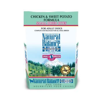Natural Balance 低敏無穀 地瓜雞肉 全犬配方 狗飼料 12磅(5.44kg)*1 小顆粒