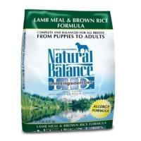 Natural Balance 低敏系列 羊肉糙米 全犬配方 狗飼料 4.5磅(2.04kg)*1