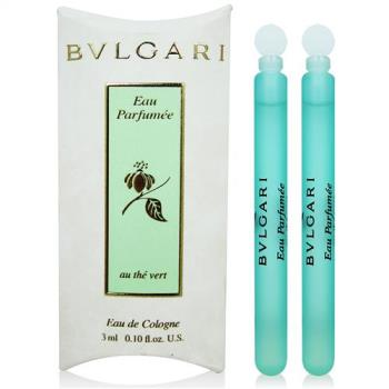 BVLGARI寶格麗 綠茶中性淡香水3ml x2入