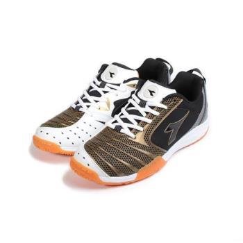 DIADORA DA3920 專業羽球鞋 黑金 DA3920 男鞋