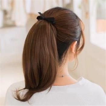 【米蘭精品】短假髮假馬尾-綁帶式內彎短髮無痕女假髮4色73rr52