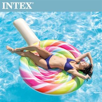 【INTEX】棒棒糖女孩浮排(208*135cm) (58753)