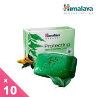 Himalaya喜馬拉雅苦楝薑黃香皂10入組