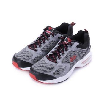 JUMP 氣墊男鞋 灰黑 JM9018 男鞋 鞋全家福