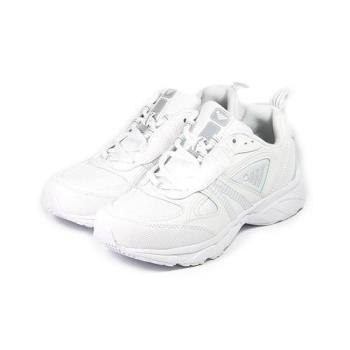 JUMP 全白慢跑鞋 白 男鞋 鞋全家福