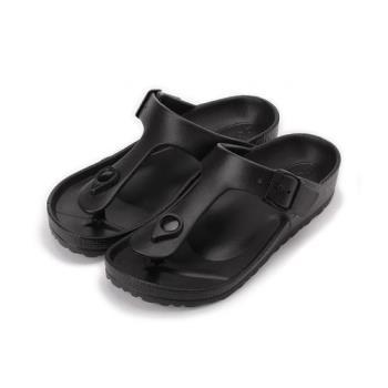 ARRIBA 腳床夾腳拖鞋 黑 61-469 女鞋 鞋全家福