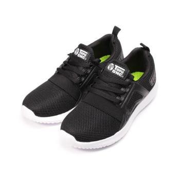 TOPU ONE 輕量網布休閒運動鞋 黑 女鞋 鞋全家福