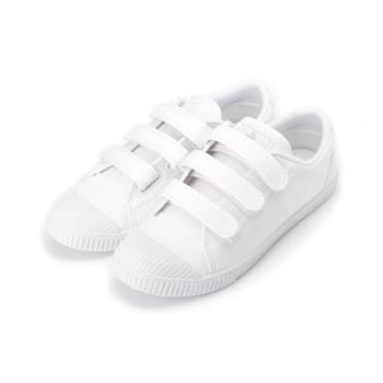 ARRIBA 三魔鬼氈休閒運動鞋 白 AB-8056 女鞋 鞋全家福