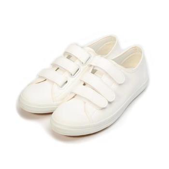 GIOVANNI VALENTINO  仿皮百搭休閒鞋 白 女鞋 鞋全家福