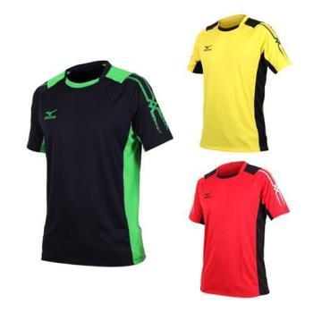 MIZUNO 男足球短袖T恤-短T
