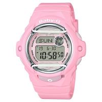 CASIO 卡西歐 Baby-G 花朵系列時尚手錶-粉紅 BG-169R-4CDR
