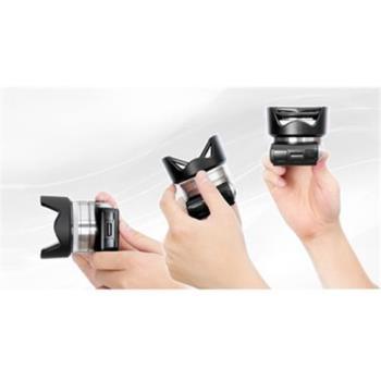 HOOCAP二合一遮光罩鏡頭蓋SH-49A,相容Sony原廠ALC-SH112遮光罩ALCSH112遮光罩49mm鏡頭蓋ALC-F49S鏡頭蓋
