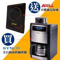 SYNCO新格多功能全自動研磨咖啡機SCM-1009S (買就送)