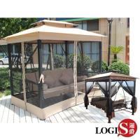 【LOGIS】  巴里島風兩用鞦韆搖椅/躺椅/吊床/休閒椅(DIY) HC-138
