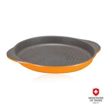 MONCROSS瑞士百年品牌橘鈦不沾烤盤28cm(滿千元送包)