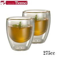 Tiamo 雙層玻璃杯 275cc / 2入(HG2232)