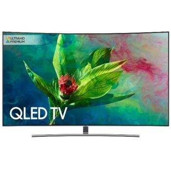 SAMSUNG三星65吋QLED聯網黃金曲面4K電視QA65Q8CN/QA65Q8CNAWXZW-贈飛利浦55吋4K電視