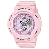 CASIO 卡西歐 Baby-G 愛旅行雙顯錶-粉紅 BGA-190BE-4ADR / BGA-190BE-4A