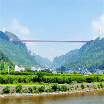 張家界鳳凰古城世界奇跡矮寨大橋懸崖玻璃魔鬼棧道5日(無購物)旅遊