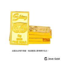 Jove gold 幸運守護神黃金條塊-5公克兩塊(共10公克)