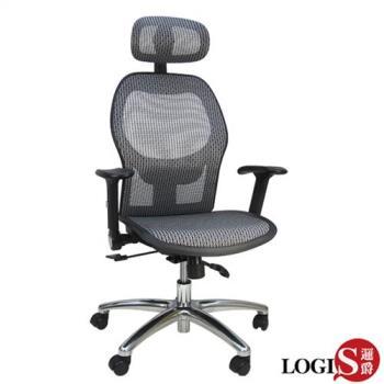 【LOGIS】邏爵洛亞耐重網布全網電腦椅/辦公椅/主管椅CJ-G60
