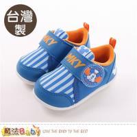 魔法Baby 寶寶鞋 台灣製迪士尼米奇正版男童止滑鞋~sk0386