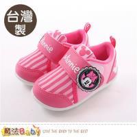 魔法Baby 寶寶鞋 台灣製迪士尼米妮正版女童止滑鞋~sk0385