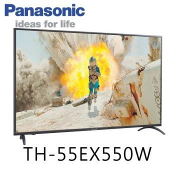 Panasonic國際牌 55吋 4K 智慧連網液晶顯示器+視訊盒(TH-55EX550W)