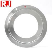 RJ製造M42轉成Canon佳能EOS即EF EF-S接環的鏡頭轉接環(有檔板.有遮蔽環)M42-EOS M42轉EOS