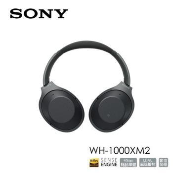 SONY 新智慧降噪 藍芽耳機 (金/黑) WH-1000XM2