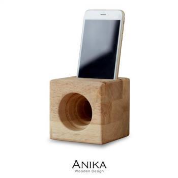 ANIKA簡約木作手機揚聲器 手機音箱【obis】