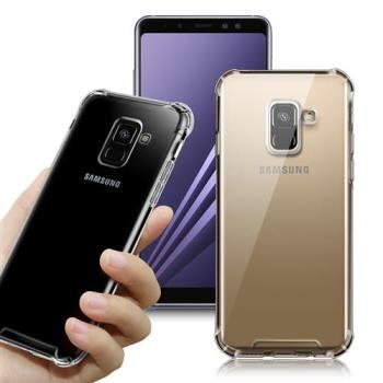CITY for Samsung Galaxy A8 2018 軍規5D防摔手機殼