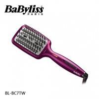(加贈化妝包)Babyliss 鑽石級瞬效負離子直髮梳 BL-BC7TW