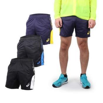 ASICS 男排球短褲-休閒短褲 運動短褲 亞瑟士