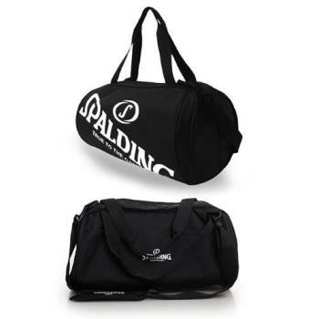 SPALDING 二顆裝休閒兩用袋-側背包 籃球 肩背包