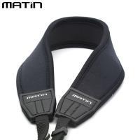 MATIN馬田相機背帶(黑色彎形,寬版)