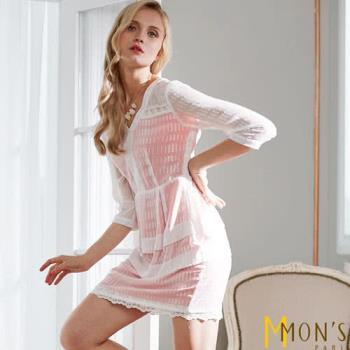 MONS 法式優雅修身質感洋裝