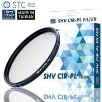 台灣STC低色偏多層奈米AS鍍膜MC-CPL偏光鏡77mm偏光鏡SHV CIR-PL(防污抗刮抗靜電耐衝擊,超薄框)