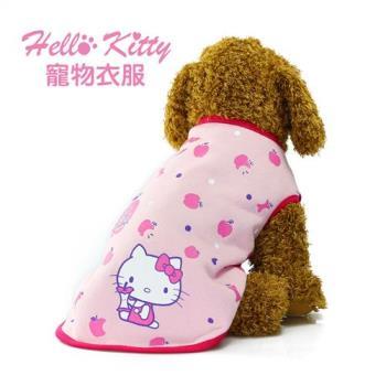 Hello Kitty 卡哇伊甜心粉 寵物衣服KT-CT01