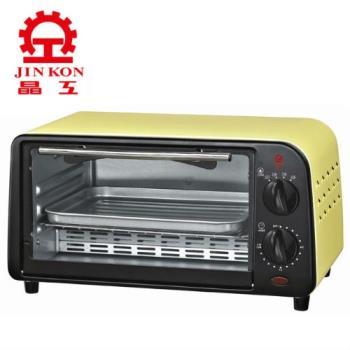 晶工牌9L炫彩黃小烤箱 JK-609