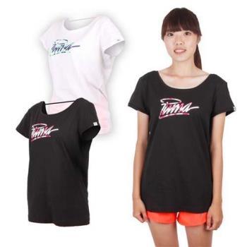 PUMA 女海灘系列短袖T恤-棉T 運動
