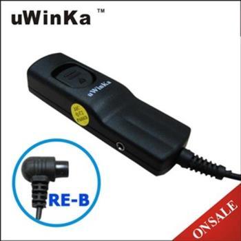 uWinka副廠NIKON快門線RE-B(附PC孔)相容Nikon原廠快門線MC-30適D6 D5 D4 D3 D850 D810 D800 D500