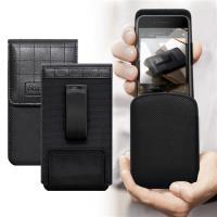 第二代Pro Achamber 簡約直立可旋轉腰夾皮套 for HTC Desire 12/Desire 12+