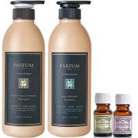 Parfum 巴黎帕芬 香氛精油洗髮精600mlX2(多款可選)+經典香水護髮油10mlX2
