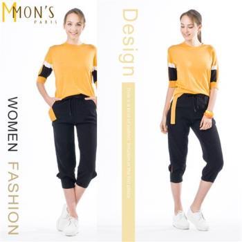 MONS設計師款造型下擺上衣