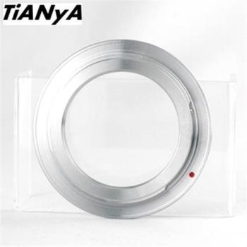 Tianya天涯M42轉Canon佳能EOS即EF/EF-S接環的鏡頭轉接環(有檔板.有遮蔽環)M42-EOS M42轉EOS