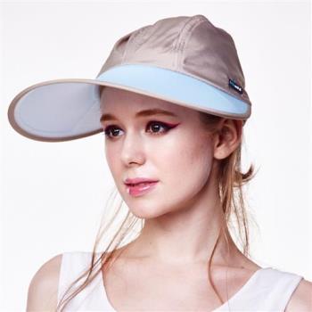 【HOII后益】先進光學美療布-機能光療寬版棒球帽(黃色/藍色任選)