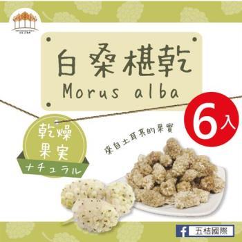 [五桔國際]新鮮白桑椹乾X6包入(35克±5% / 包)