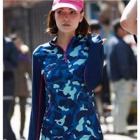 【Wildland 荒野】女彈性抗UV迷彩長袖功能衣共2色