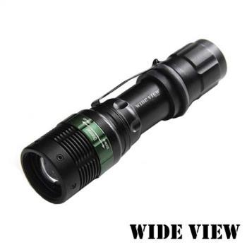 WIDE VIEW Q5 LED強光變焦手電筒 NZL-W109-T